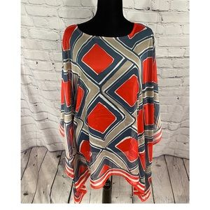 Outback Red Scarf Top S/M